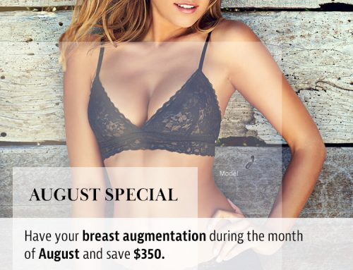August is:  National Breast Augmentation Month Or it should be!
